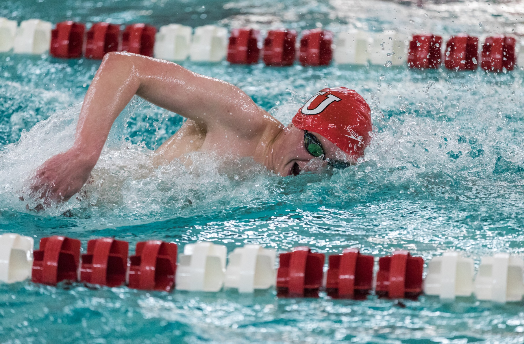 Men's Swimming and Diving Finishes Day Three of NEWMAC Championship