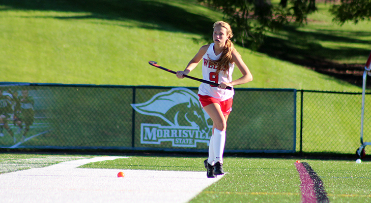 Field Hockey Powers Past New England College, 3-0