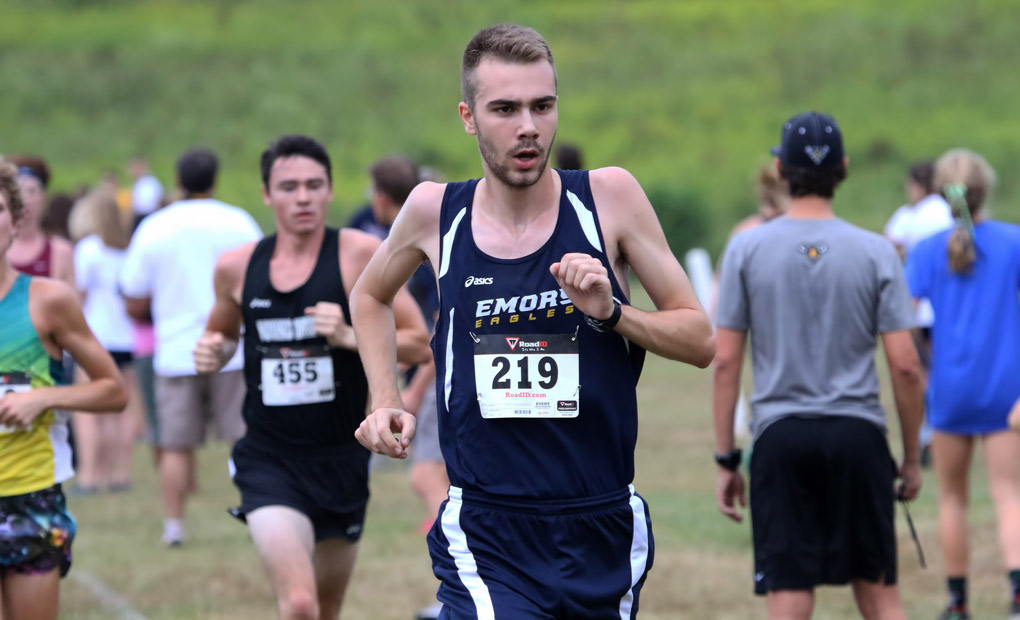 Emory Men's Cross Country Takes Home First Place At UNG Invitational