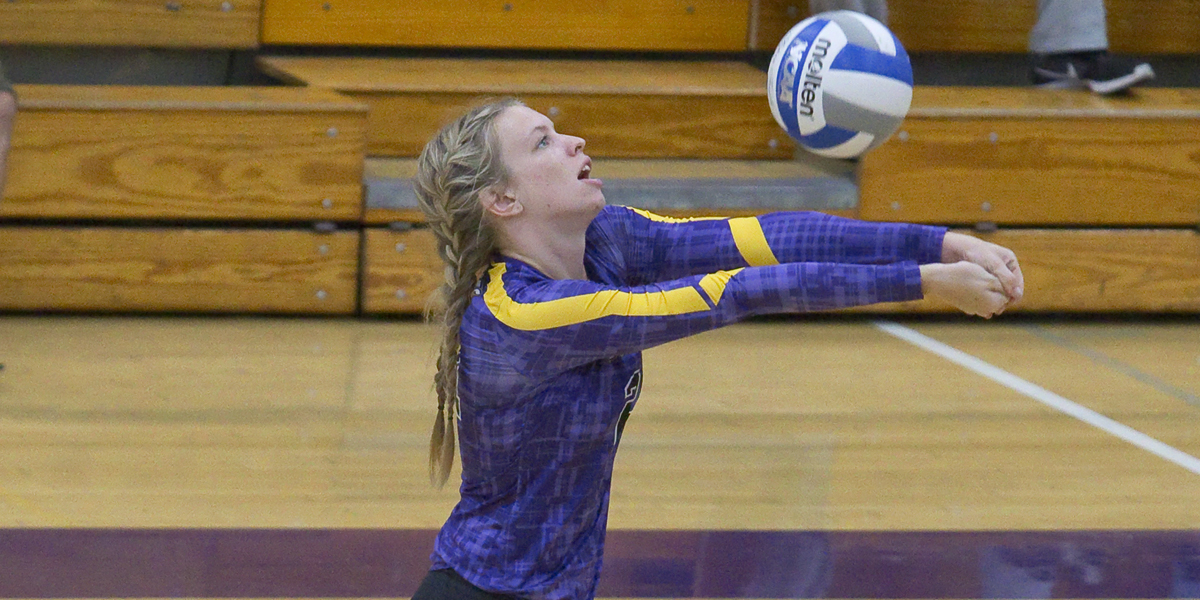 Volleyball splits at Emory Classic