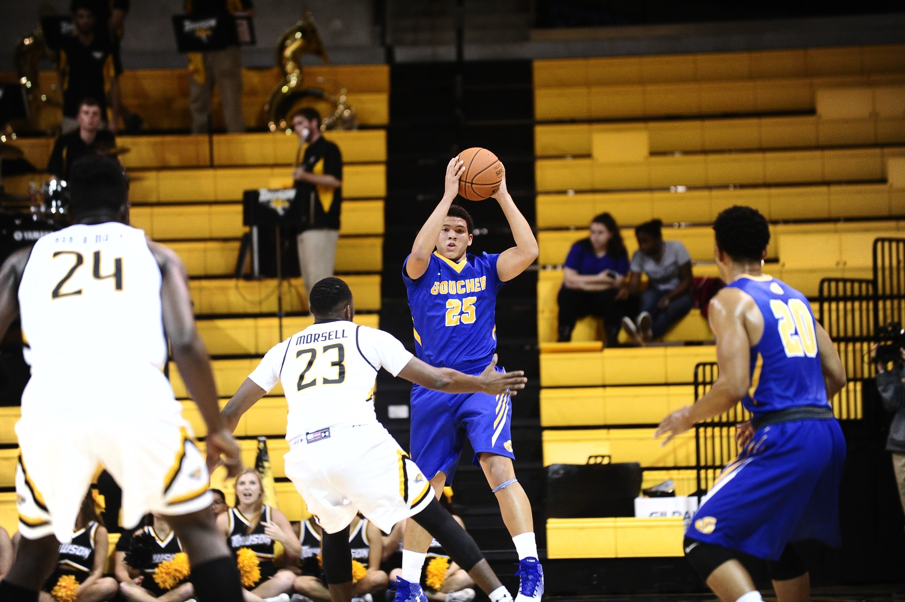 Men's Basketball is Downed at Home in Physical Bout