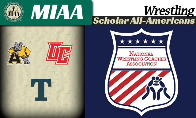 Fourteen MIAA wrestlers and one team earn NWCA Scholar All-American honors