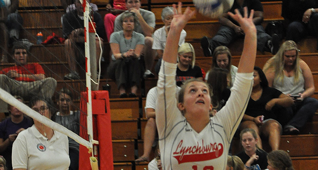 Lynchburg Volleyball Defeats Shenandoah in Three