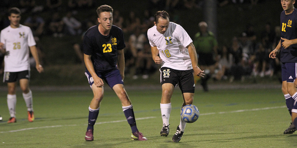 Men's Soccer Blank Badgers in NAC Contest
