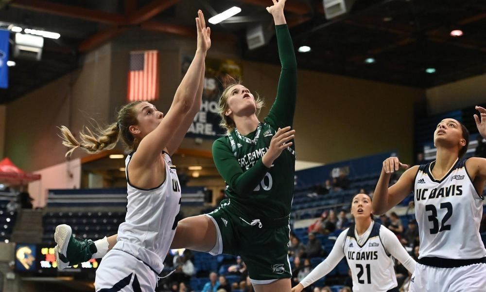 WOMEN'S HOOPS DROPS HEARTBREAKER IN DOUBLE OVERTIME, 77-75, AT UC DAVIS