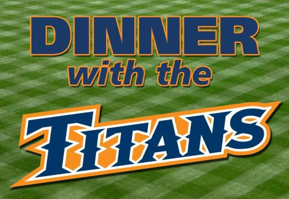 Reserve Your Seats for Dinner with the Titans