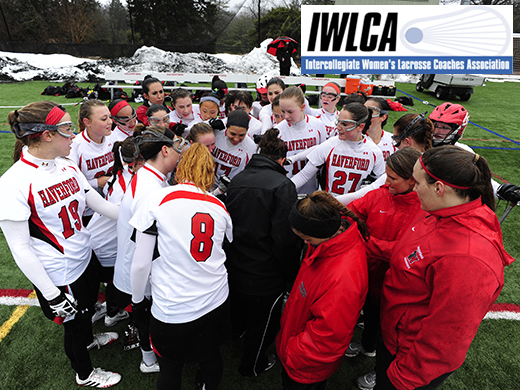 Women's Lacrosse Earns IWLCA Academic Squad Honor