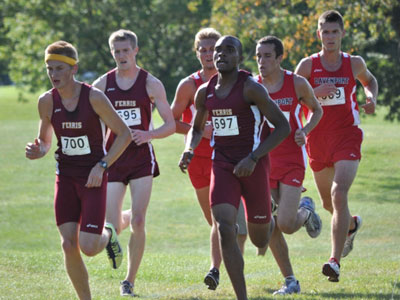 Men's CC Finishes 20th In Louisville Race