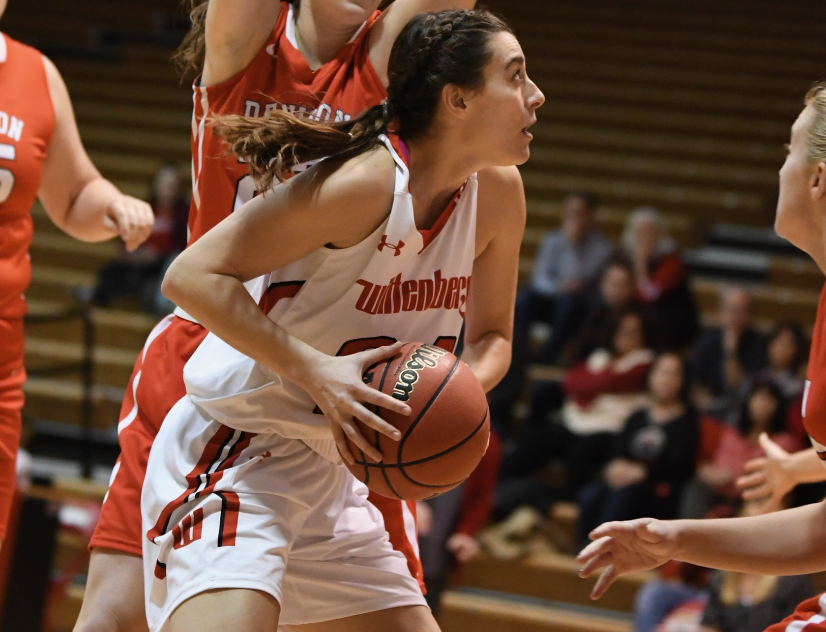 Junior Korynne Berner posted her 1st-career double-double with 14 points and 11 rebounds in Wittenberg's 56-45 home win over Ohio Wesleyan