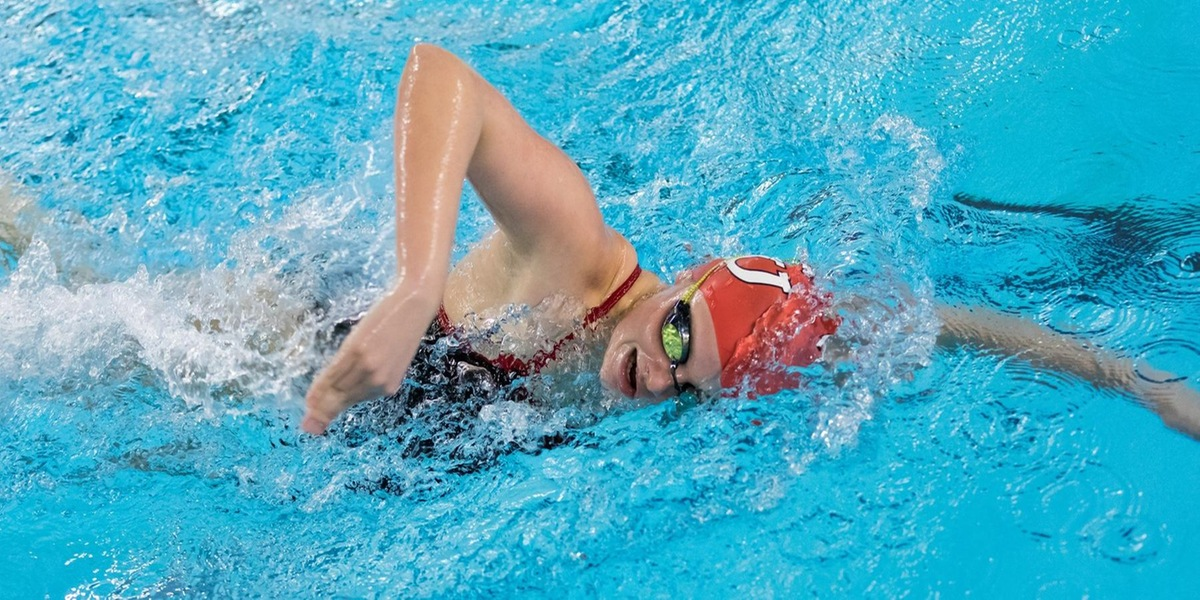 Swimming and Diving Wraps Up Day One of NEWMAC Championships