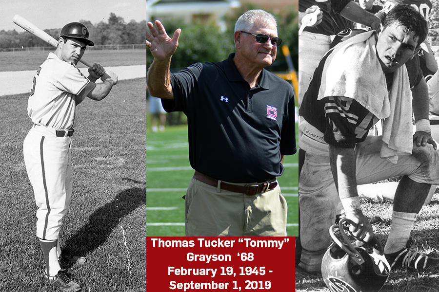 Remembering Guilford Legend Tommy Grayson '68