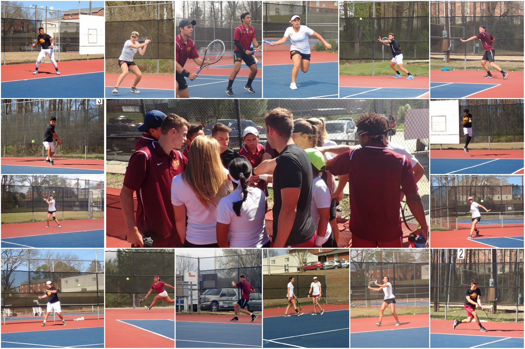 EC Tennis Celebrates Senior Day with Win over USC – Sumter!