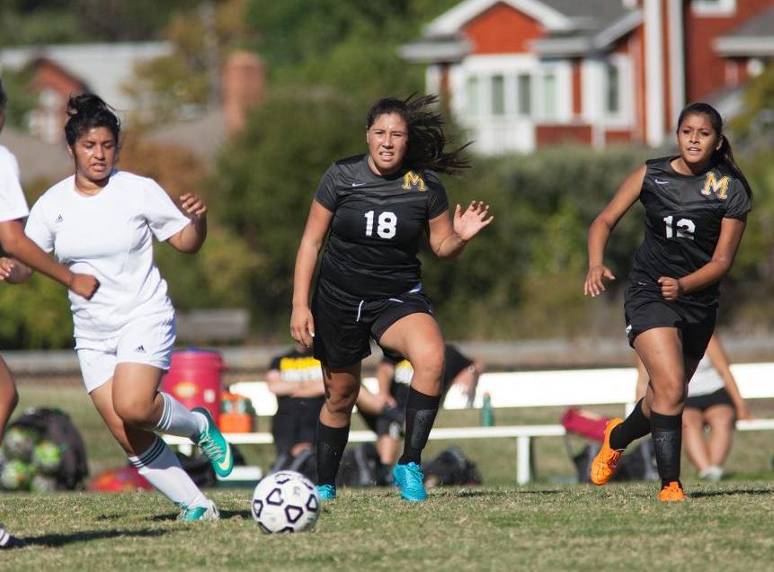 Huezo Nets Winner as Women's Soccer Nabs 1-0 Win Over Los Medanos College