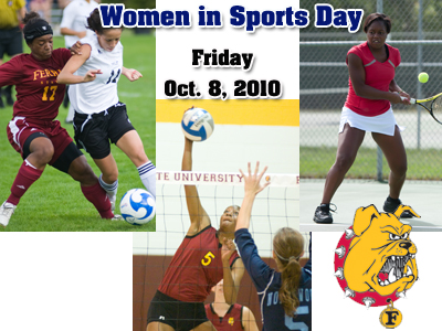 """WOMEN IN SPORTS DAY"" - Oct. 8, 2010"