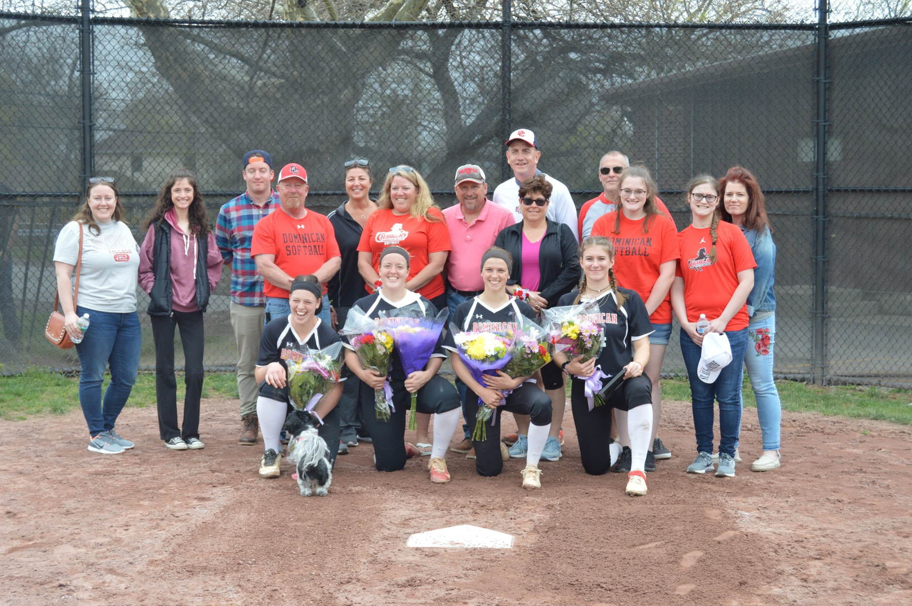 SOFTBALL EARNS SWEEP ON SENIOR DAY