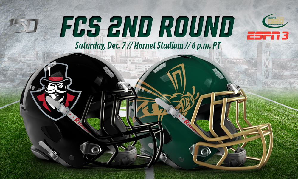 FOOTBALL HOSTS AUSTIN PEAY IN SECOND ROUND OF FCS PLAYOFFS ON SATURDAY