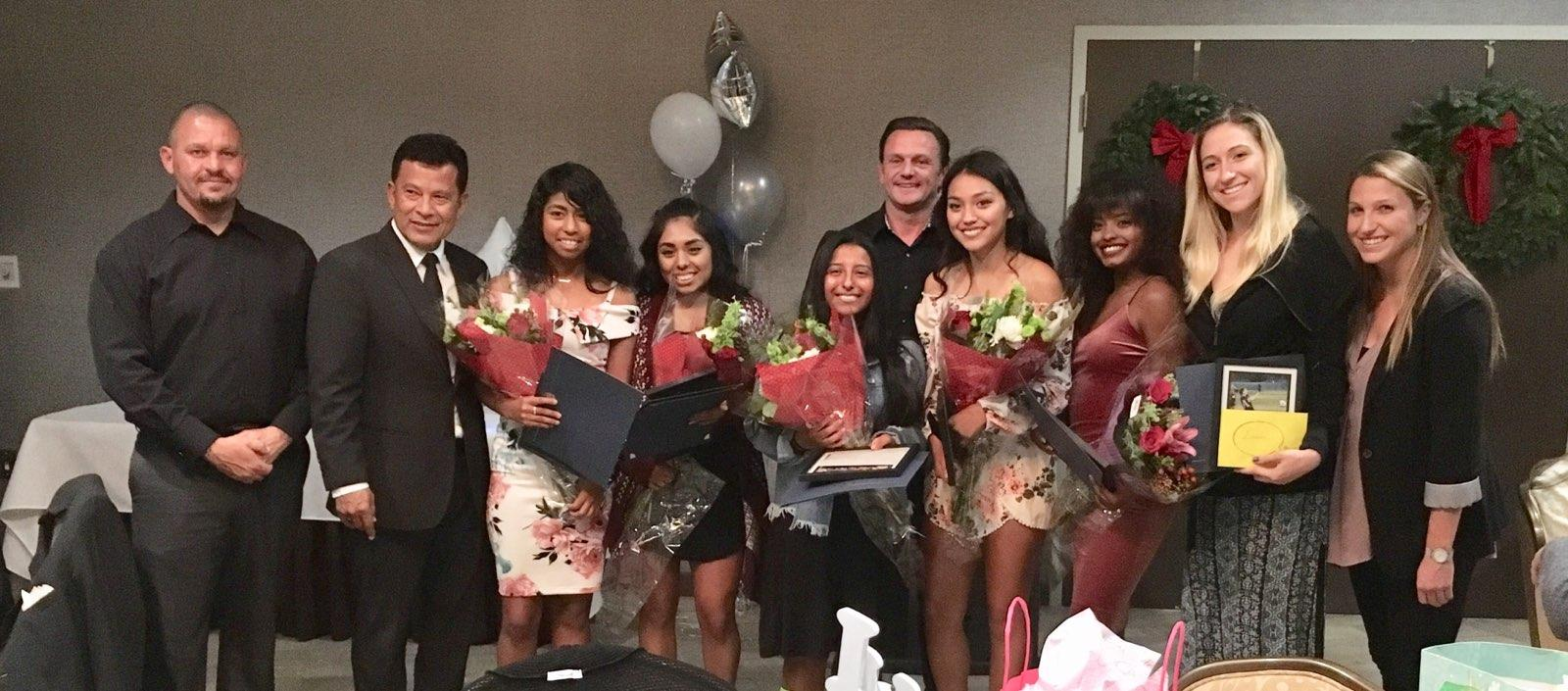 Women's soccer team honors 2017 players at banquet