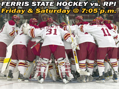 Watch/Listen LIVE: Bulldog Hockey Looks to Sweep RPI