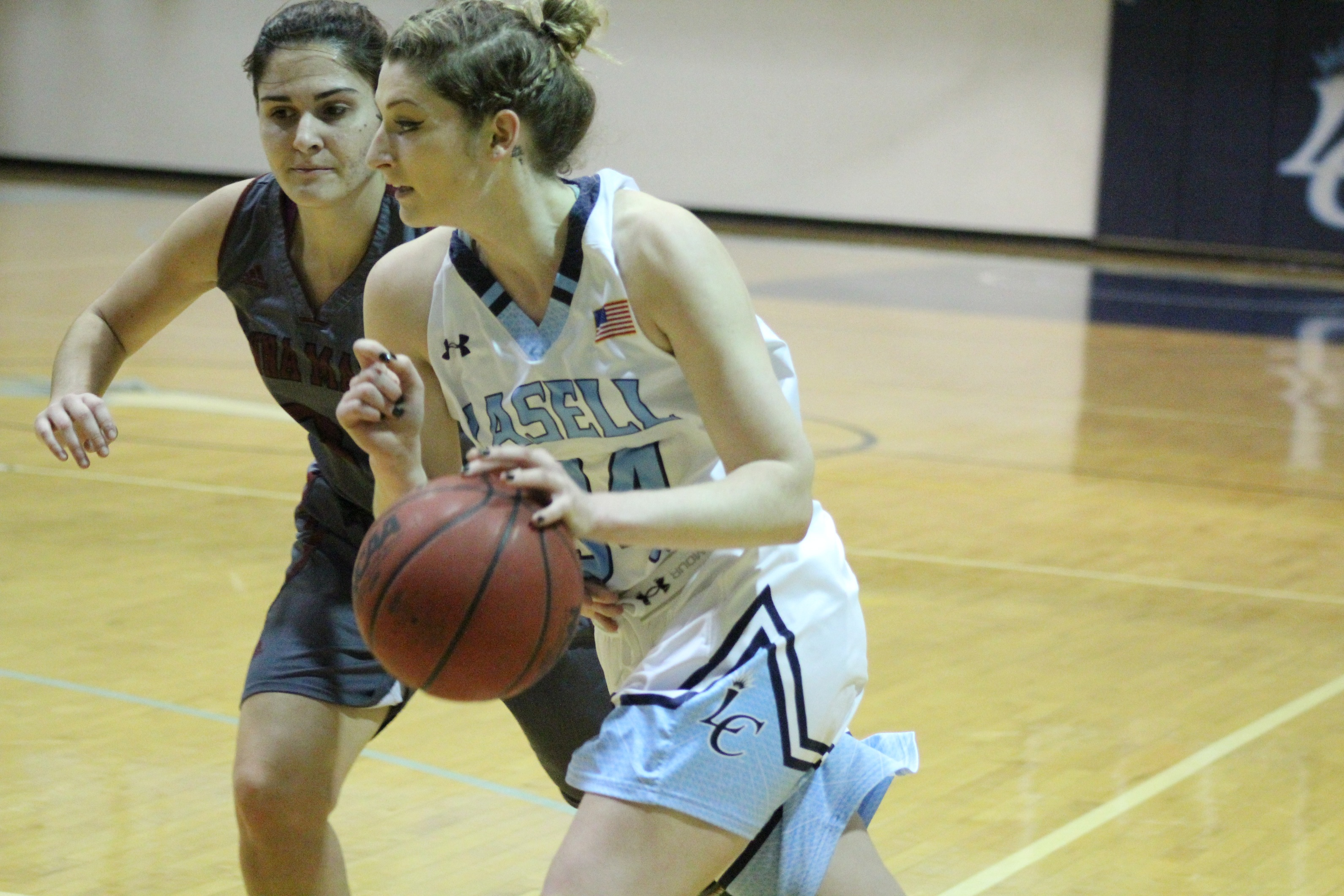 Lasers Drop Road Game at Plymouth State 55-47