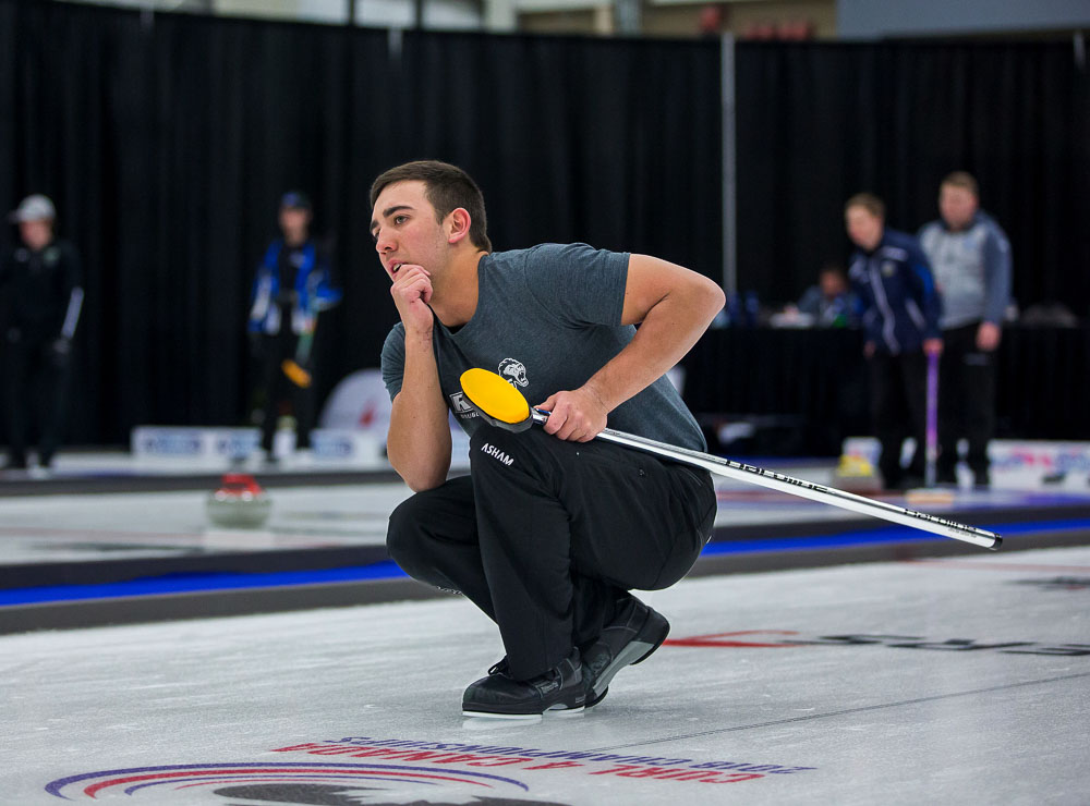 Day One from the 2018 CCAA/Curling Canada Championships