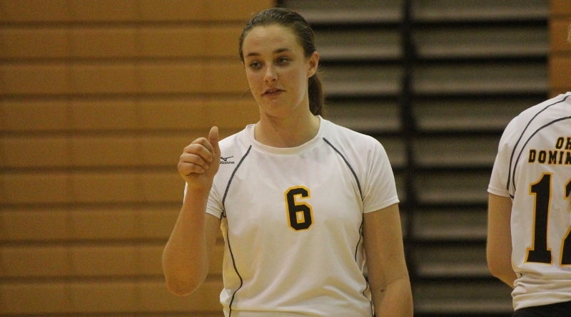 Quartet Records Double Figures In Kills As Volleyball Concludes Play At Clarion