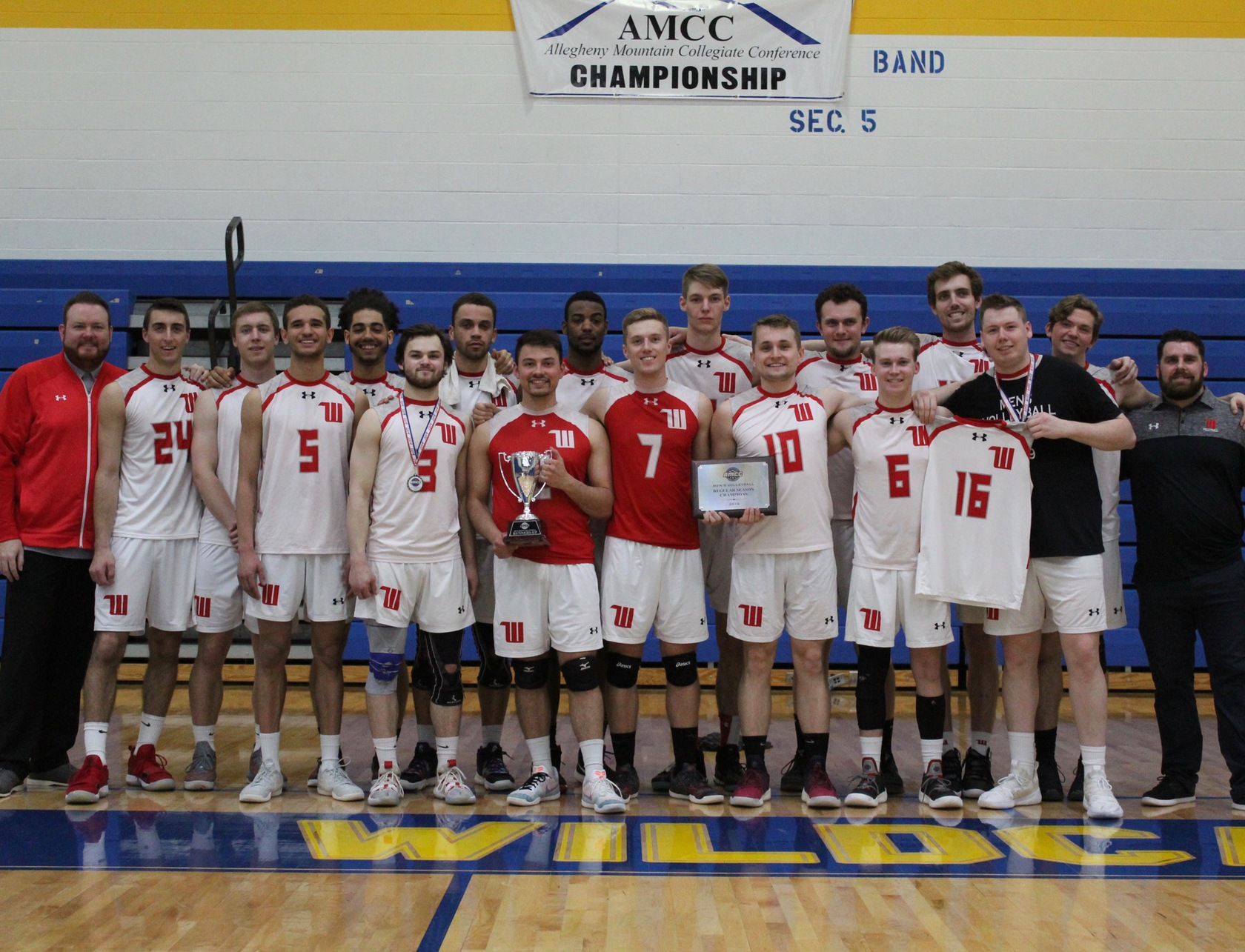 Despite dropping a 3-1 decision against Thiel in the AMCC Tournament championship match, Wittenberg was crowned the 2019 AMCC regular season champions with an 11-3 record on the year in league play