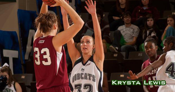 Bobcat Women Edge by Cougars in Cat Fight, 51-46
