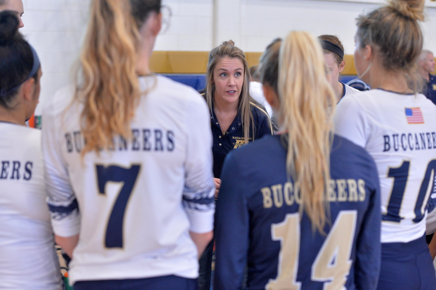 Volleyball Loses to Suffolk in Four Sets in Boston