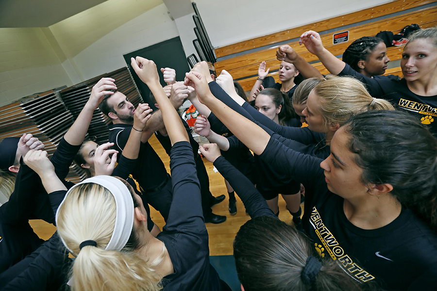 Women's Volleyball Sweeps its Way to 20th Win
