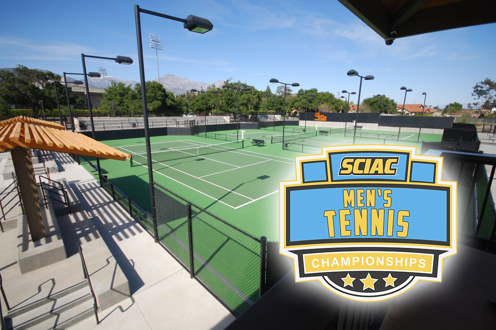 2016 SCIAC Men's Tennis Championships Information