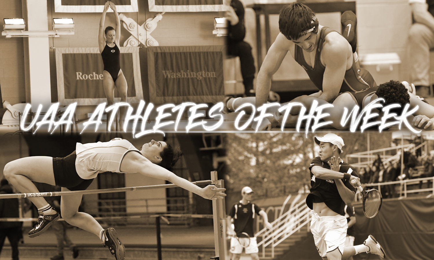 Maroon Quartet Represented on UAA Athletes of the Week List