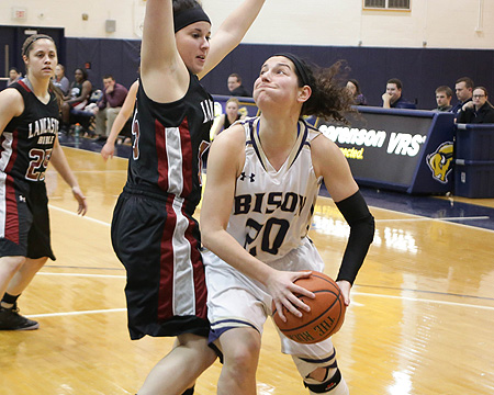 Bison can't stop first-place Chargers