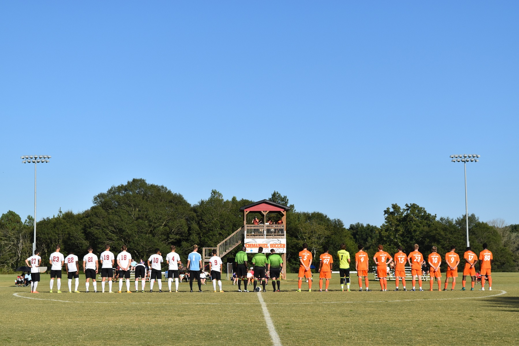 Men's Soccer Earns NCCAA Region Awards