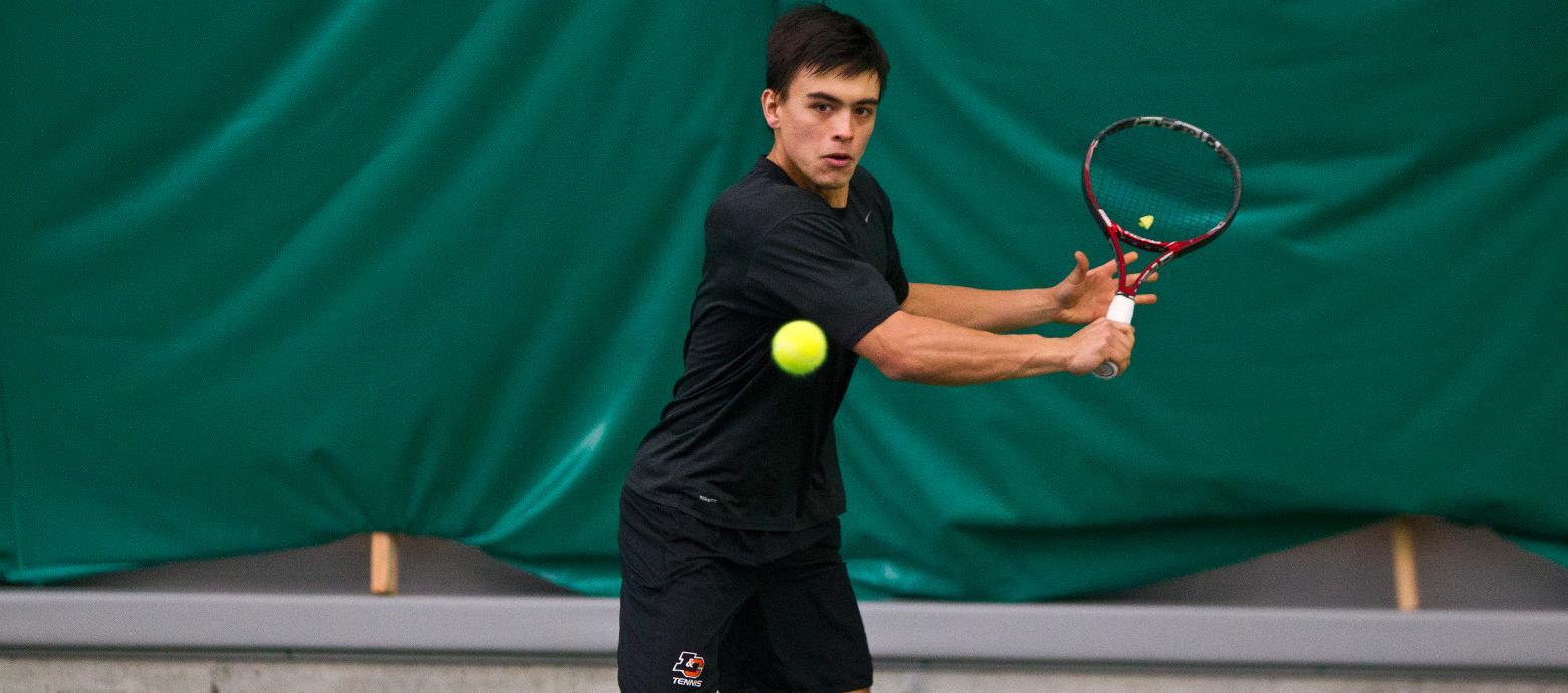 Men's Tennis Battles Another Division I Opponent
