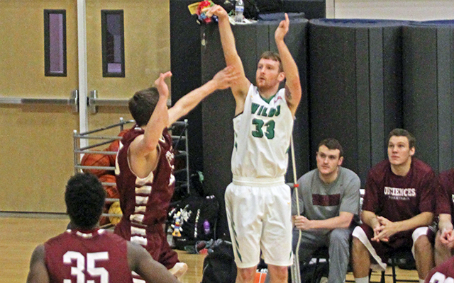 Shots Stop Falling for Wilmington Men's Basketball in 83-67 Loss to USciences
