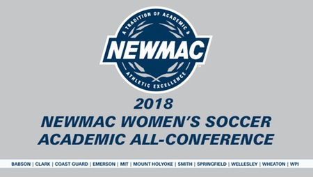 NEWMAC Honors 14 Women's Soccer Athletes on All-Academic Team