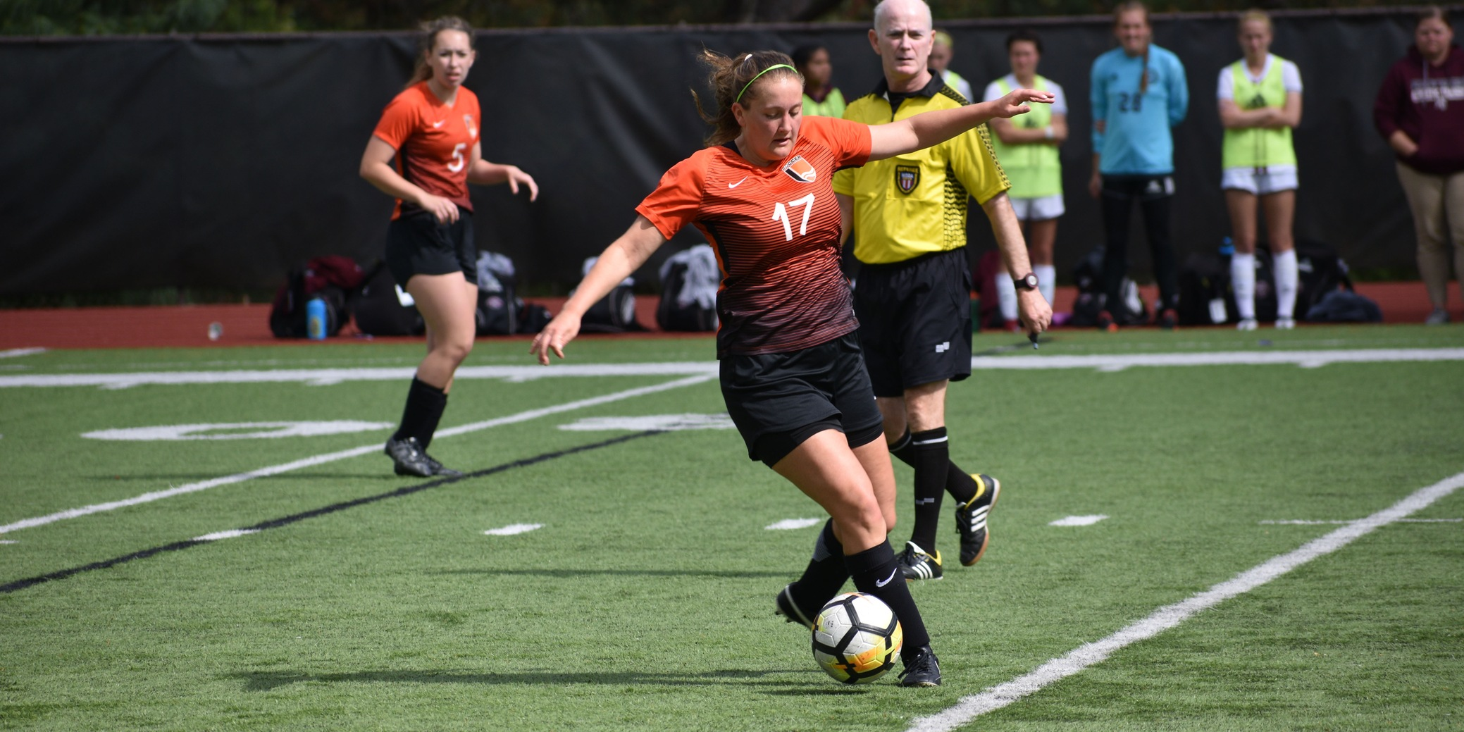 Pioneers get first NWC win off of penalty kick by Hennes