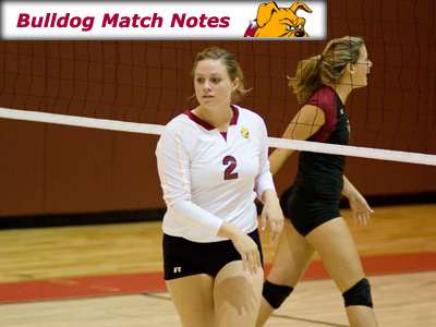 Ferris State Women's Volleyball Weekly Notes (Match 25)