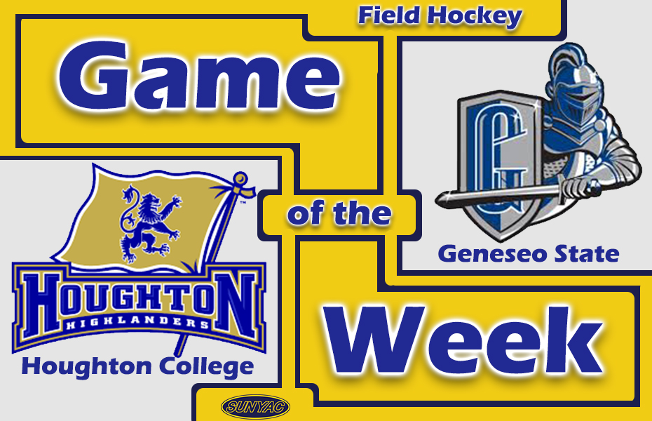 SUNYAC Game of the Week - Geneseo Field Hockey scores Four in first Nine minutes to beat Houghton College