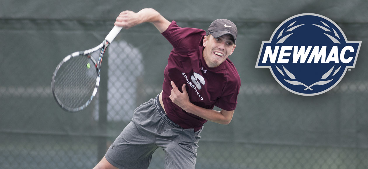 DeVarennes Earns NEWMAC Men's Tennis All-Conference Singles Honors