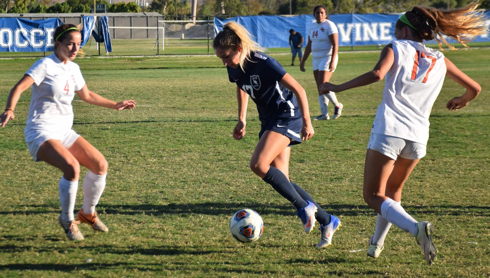 Women's soccer team shut out by Orange Coast at home
