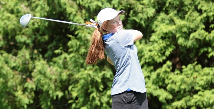 Mundinger finishes t-8th, Falcons place sixth at UW-Whitewater Fall Classic