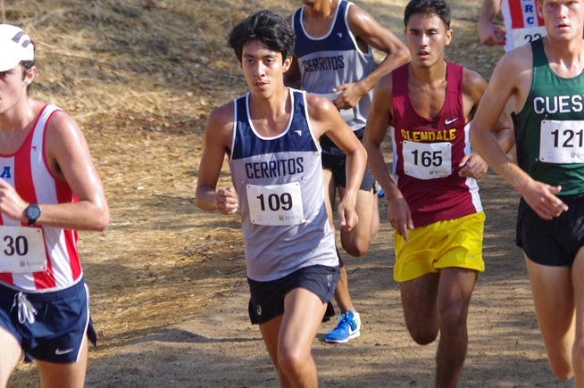 Luis Munoz helped lead the Falcons to a fourth place finish