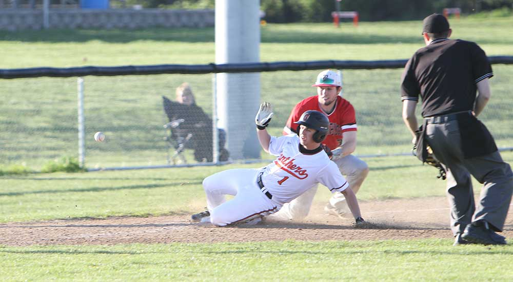 Baseball splits home games against Blackburn