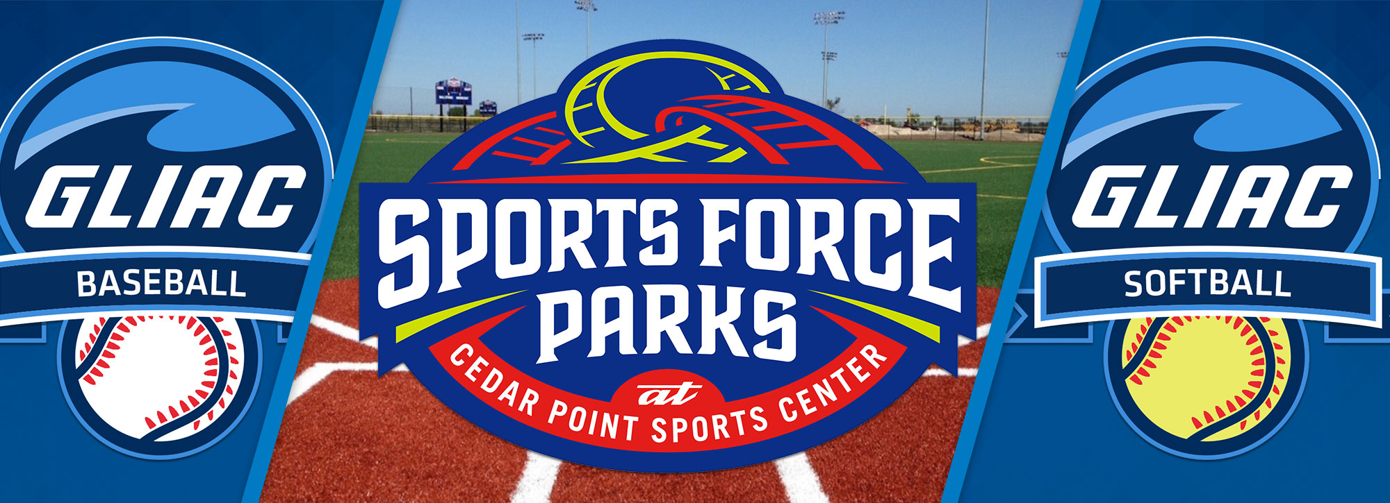 Sports Force Parks to Host GLIAC Baseball & Softball Tournaments