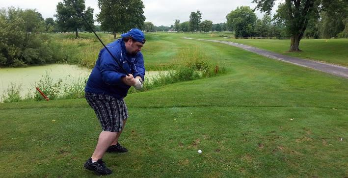 Photos: Football golf outing