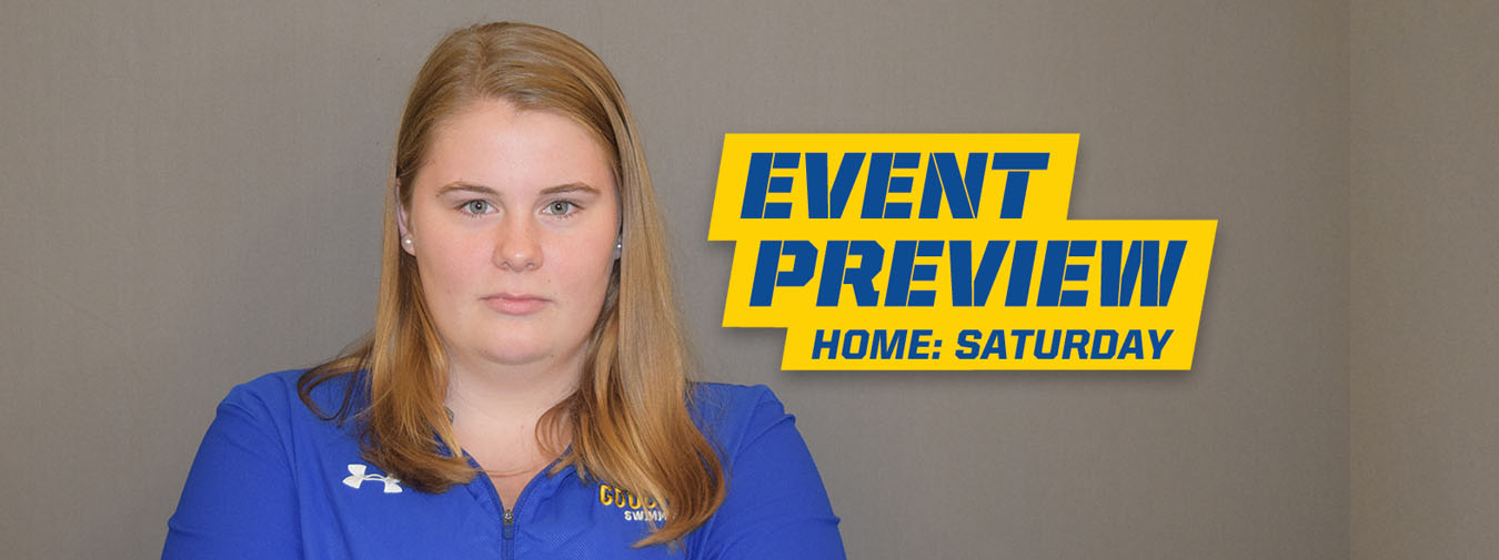 Goucher Swimming Prepares to Host Catholic for First Home Meet of the Season