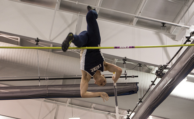 Field Performances Lead Thunder at Conference Meet