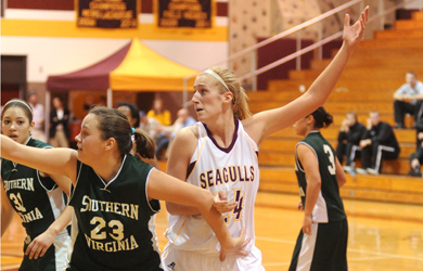 Last-second bucket drops Sea Gulls against St. Mary's
