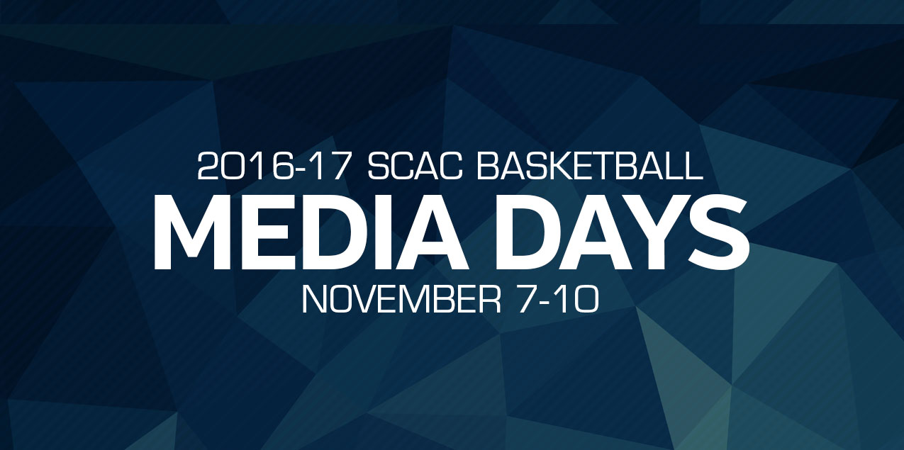SCAC Basketball Media Days - Day 3 Interviews